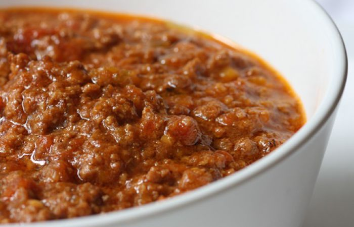 Sauce bolognaise au boeuf, fraîche et faîte maison (400 g)