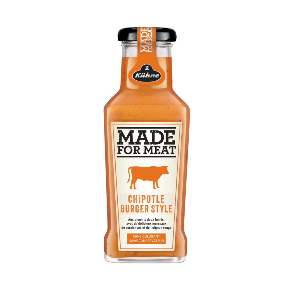 Sauce made for meat chipotle burger, Kuhne (235 ml)