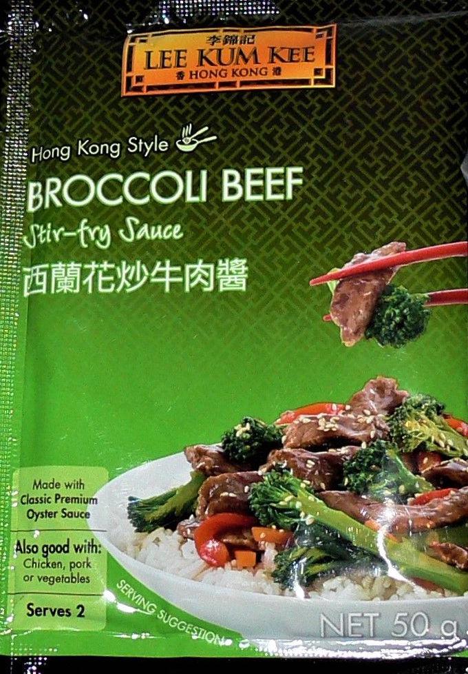 Sauce boeuf brocoli, Lee Kum Kee (50 g)