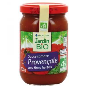 Sauce tomate Provençale aux fines herbes, Jardin Bio (200 g)
