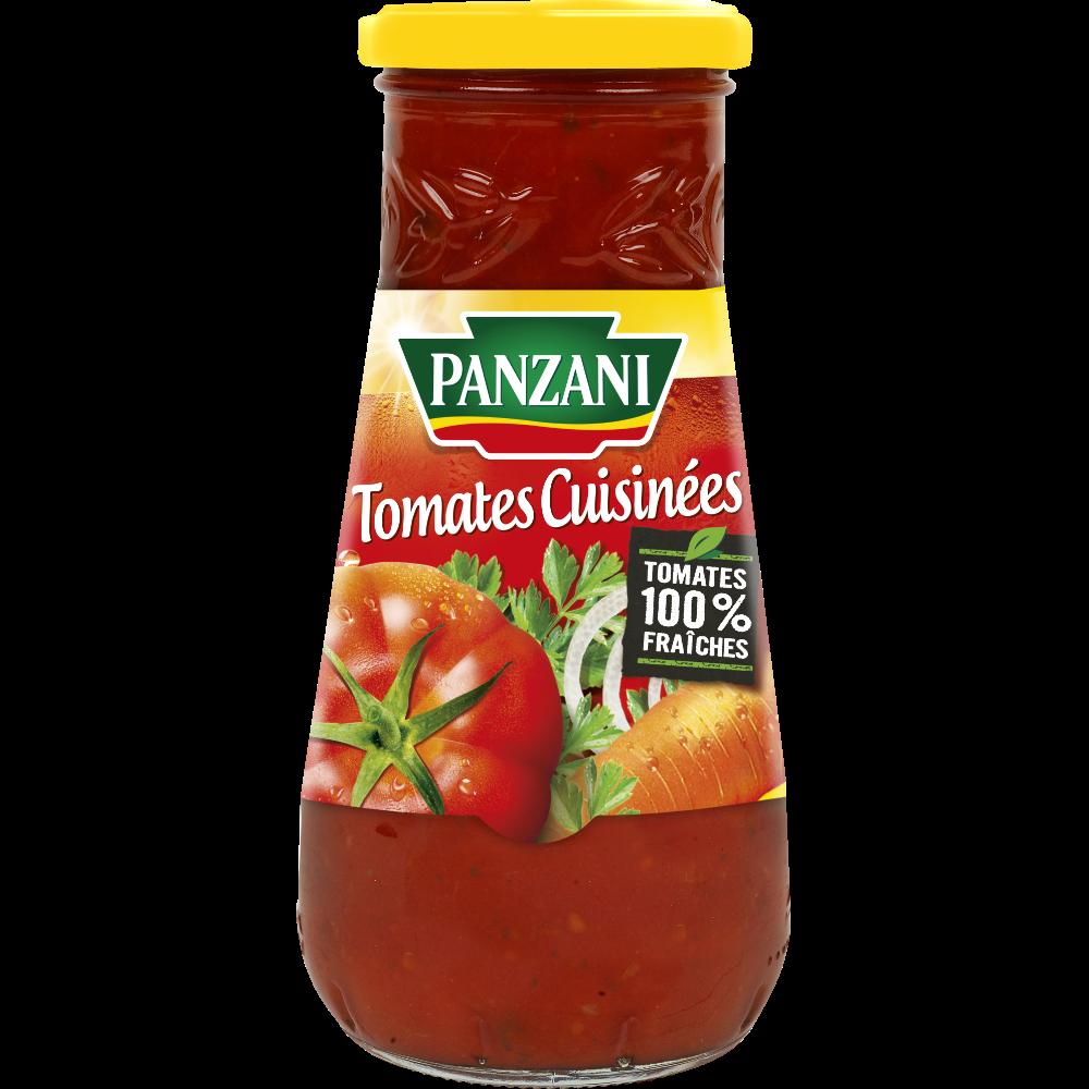 Sauce tomate cuisinée, Panzani (600 g)