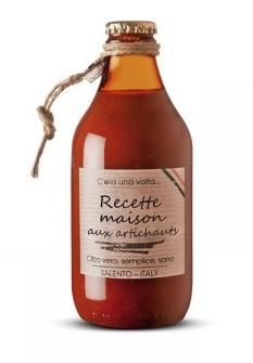 Sauce tomate Recette Maison aux artichauts, Perche Ci Credo (330 g)