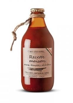 Sauce tomate Recette Maison aux tomates séchées, Perche Ci Credo (330 g)