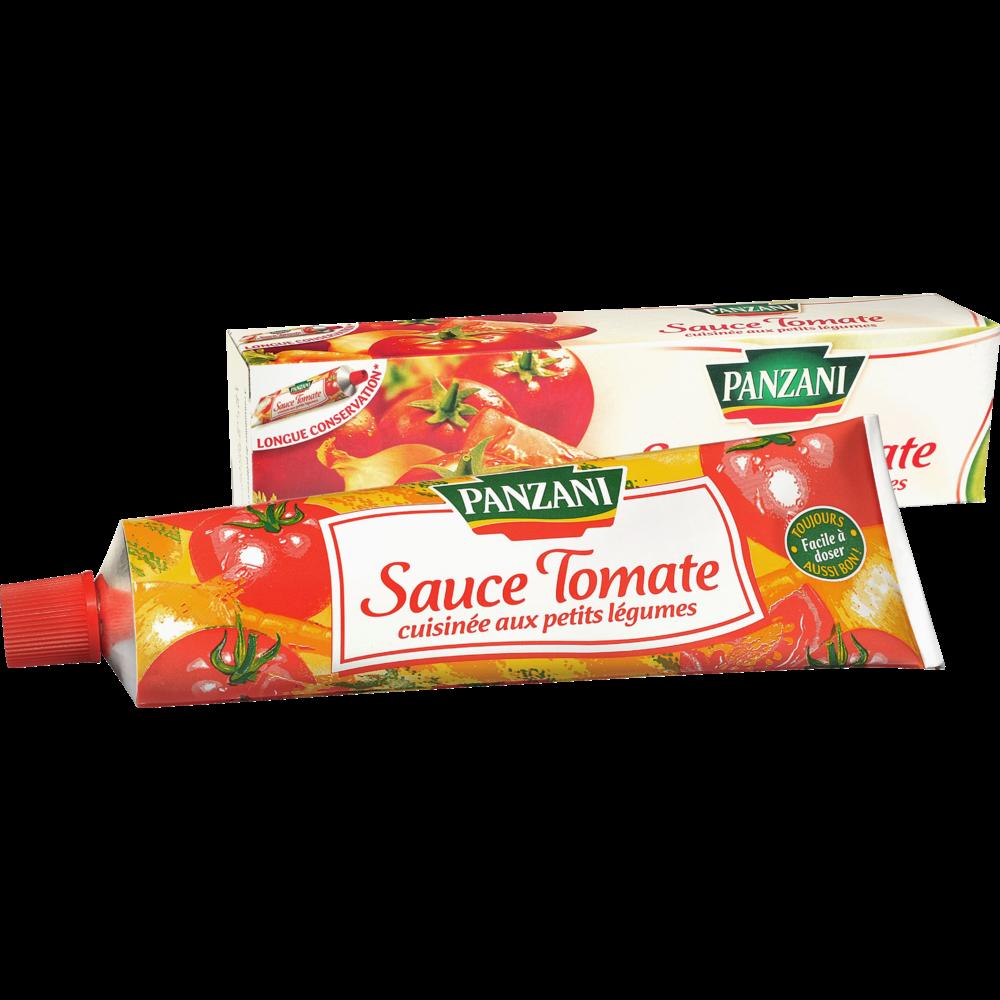 Sauce tomates cuisinées aux légumes en tube, Panzani (180 g)