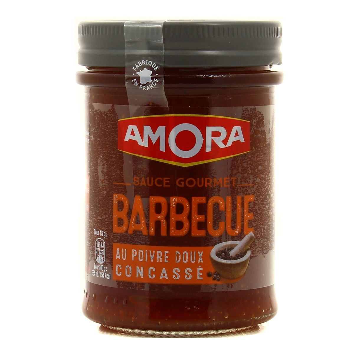 Sauce barbecue, Amora (224 g)