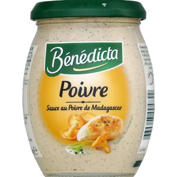 Sauce au poivre de Madagascar, Bénédicta (260 g)