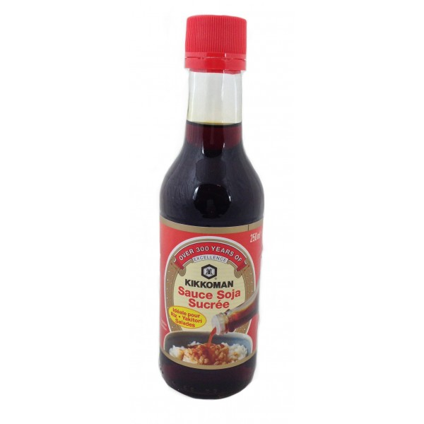Sauce soja sucrée Kikkoman (25 cl)