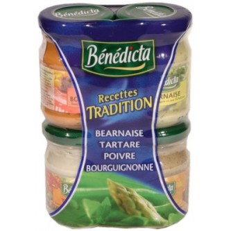 Sauce Party Tradition, Bénédicta (x 4, 330 g)