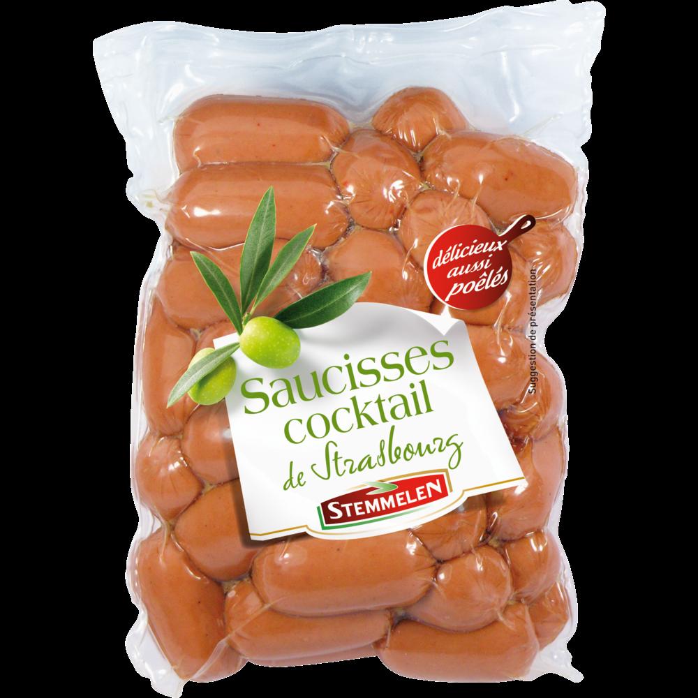 Saucisse cocktail de strasbourg, Stemmelen (300 g)