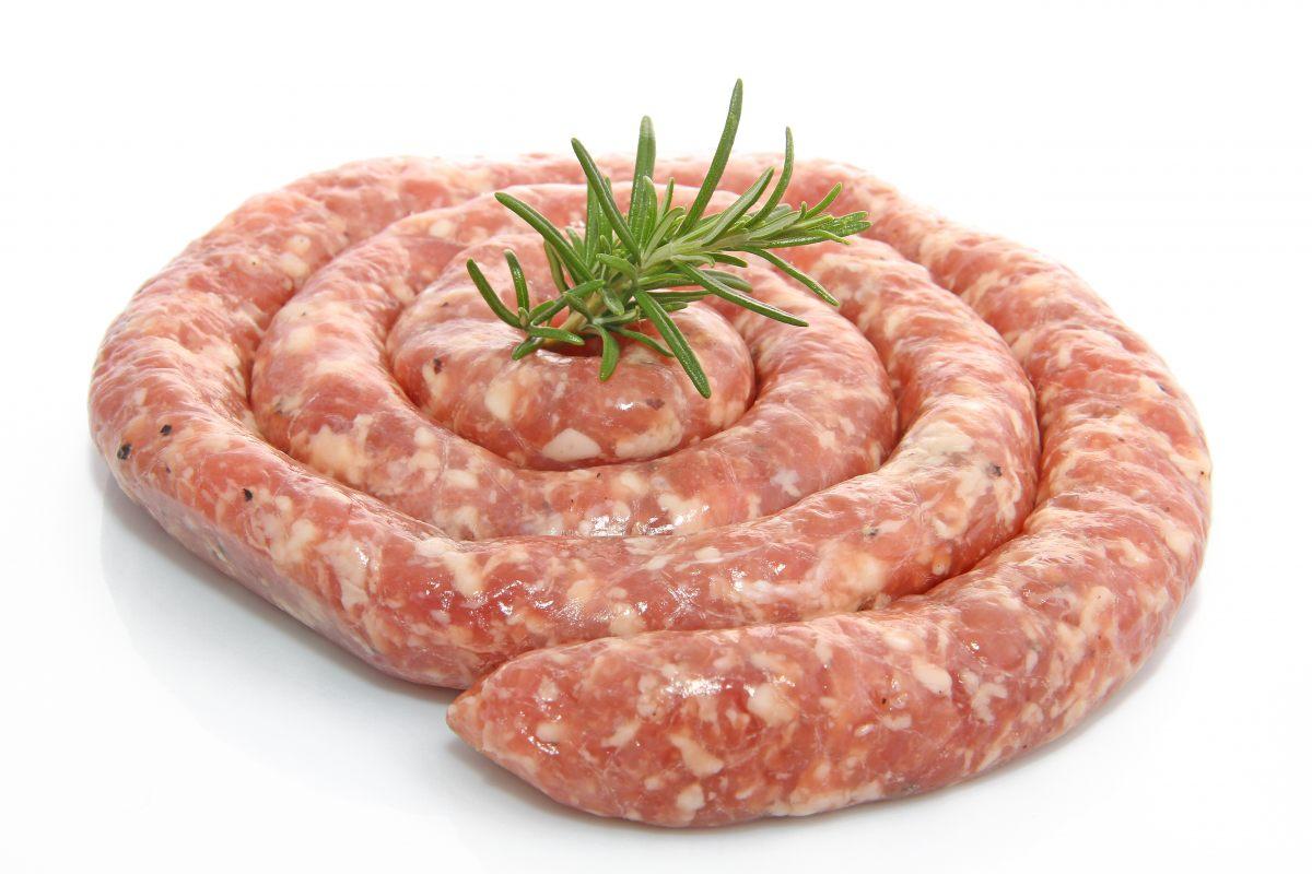 Saucisse fraiche de veau artisanale de l'Aveyron (500 g)