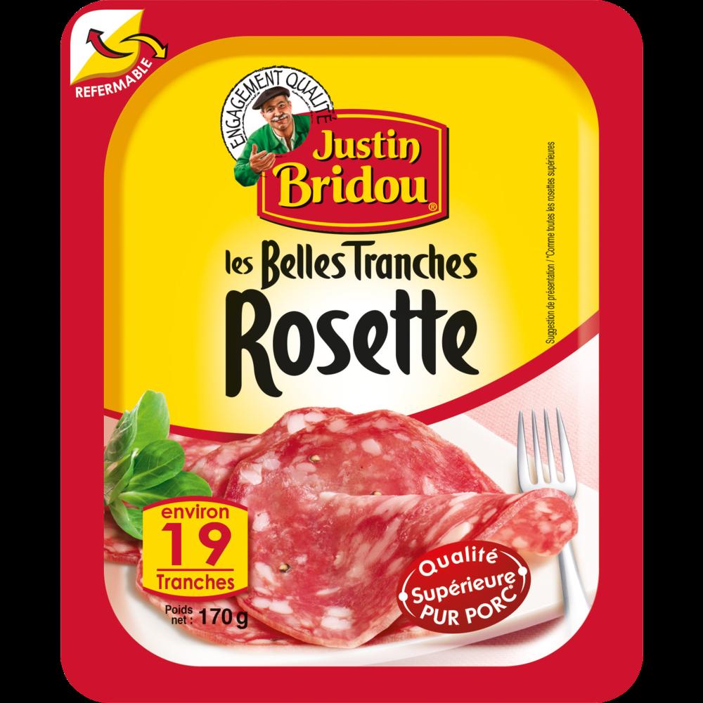 Rosette, Justin Bridou (19 tranches, 170 g)