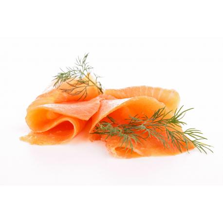 Mini tranches de saumon fumé, Compagnie du Saumon (100 g)