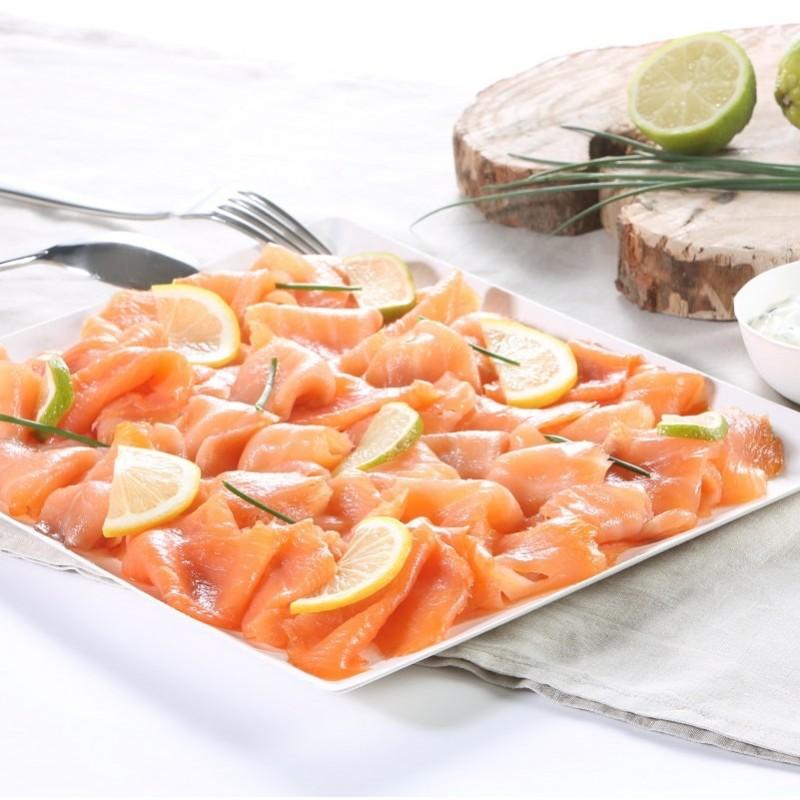 Petite planche saumon fumé