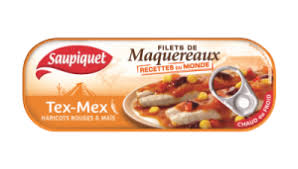Filet de maquereaux Tex Mex Saupiquet (169 g)