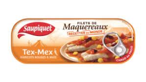 Filet de maquereaux Tex Mex Saupiquet (169 g)