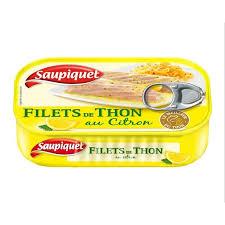 Filet de Thon au Citron, Saupiquet (115 g)