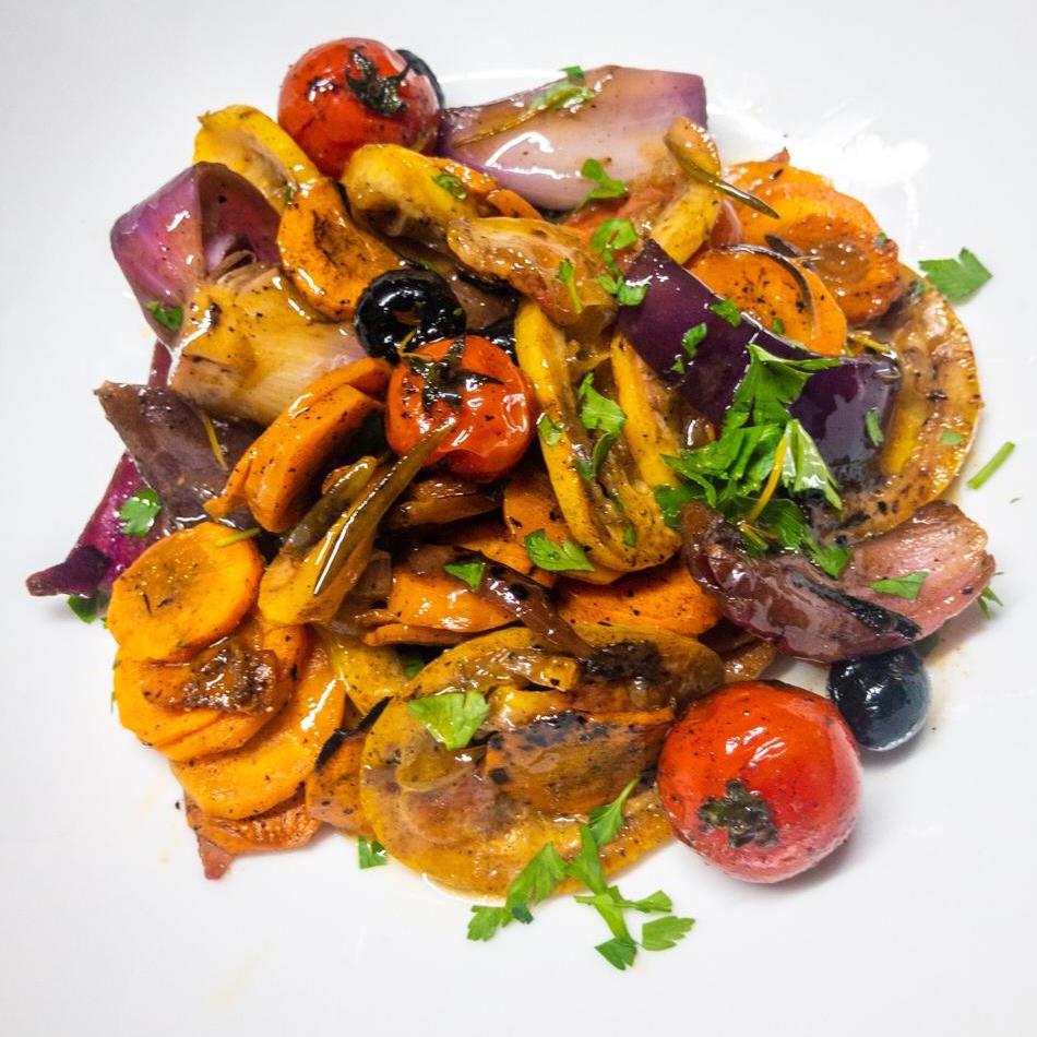 Sauté de petits légumes au jus d'agneau (250 g)