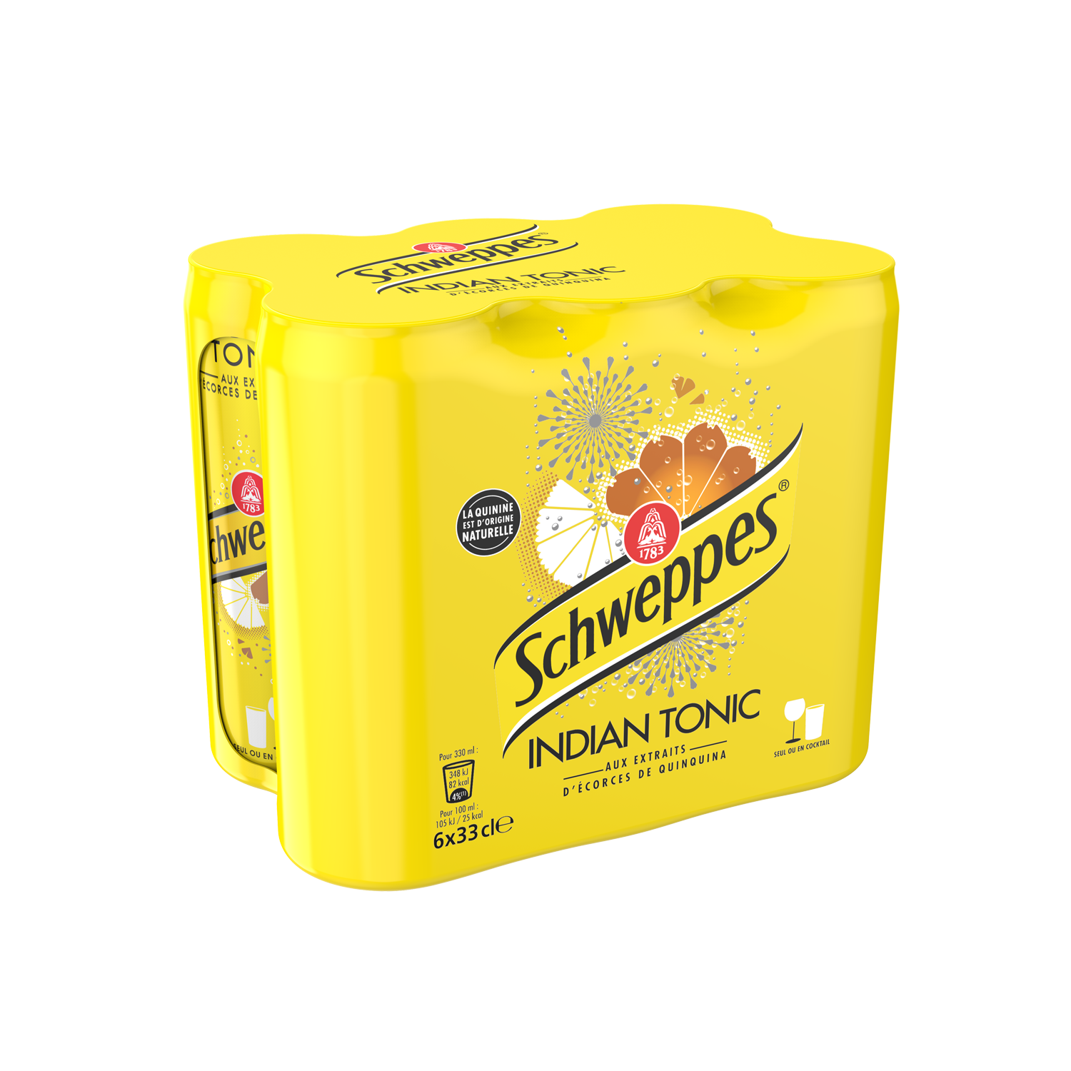 Schweppes Indian Tonic (6 x 33 cl)