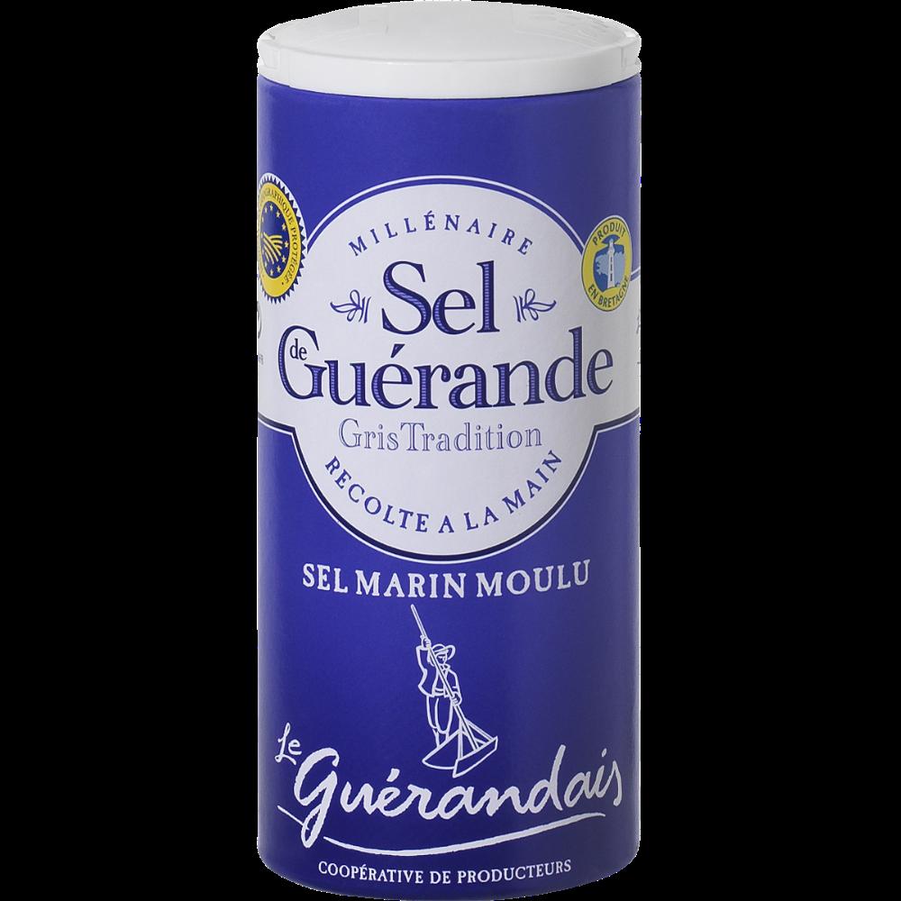 Sel marin moulu de tradition Guérande, Le Guérandais (250 g)