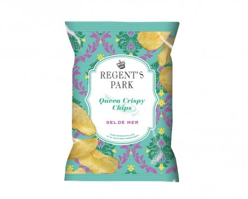 Chips au sel de mer Queen Crispy, Regent's Park (150 g)