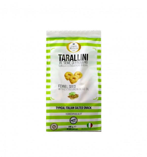 Tarallini fenouil, Millerighe (230 g)