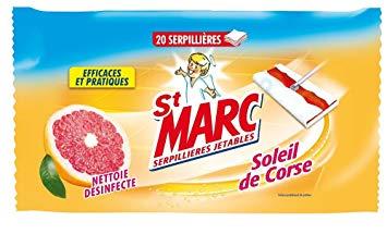 Serpillières jetables, St Marc (x 20)
