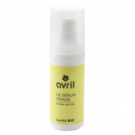 Sérum visage à l'aloe vera certifié BIO, Avril (30 ml)