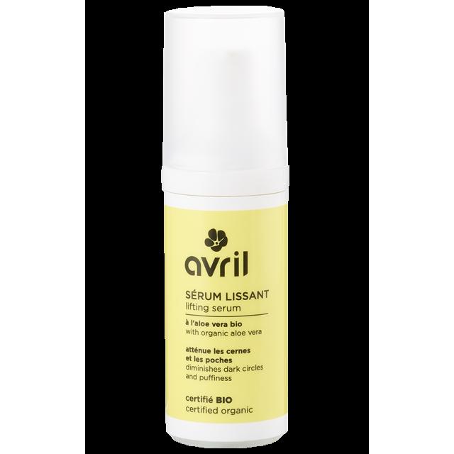 Sérum lissant visage à l'aloe vera certifié BIO, Avril (30 ml)