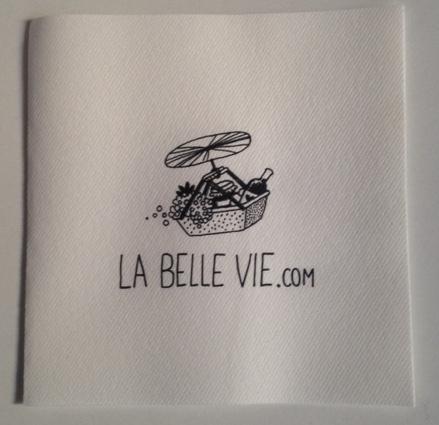 Serviette en papier La belle vie (x 1)