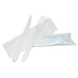 Set couverts plastiques