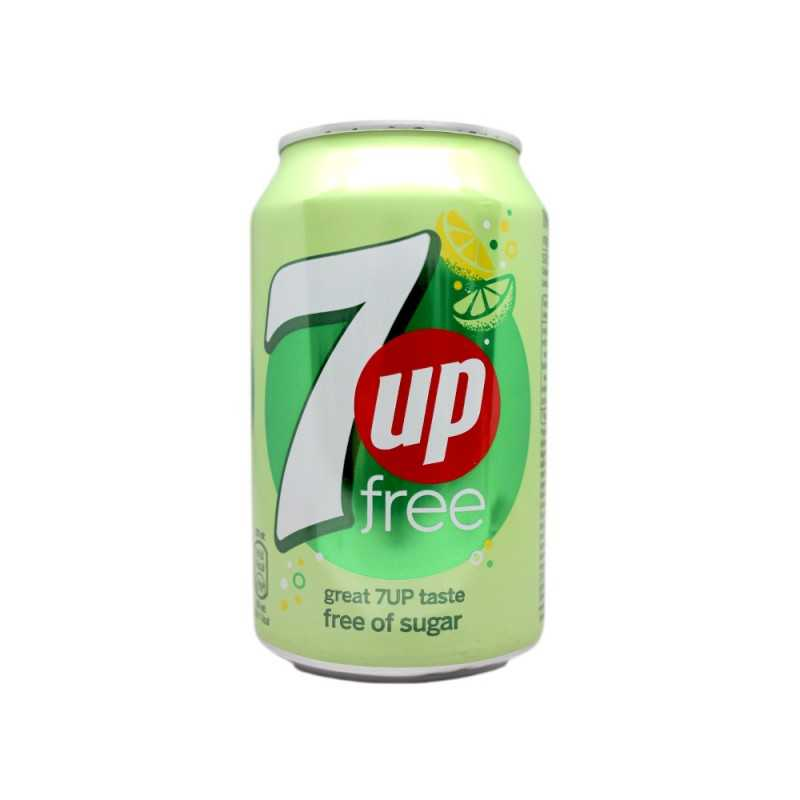 7 up Zéro (33 cl)