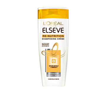 Shampooing Elseve re-nutrition Gelée Royale, Elseve (250 ml)