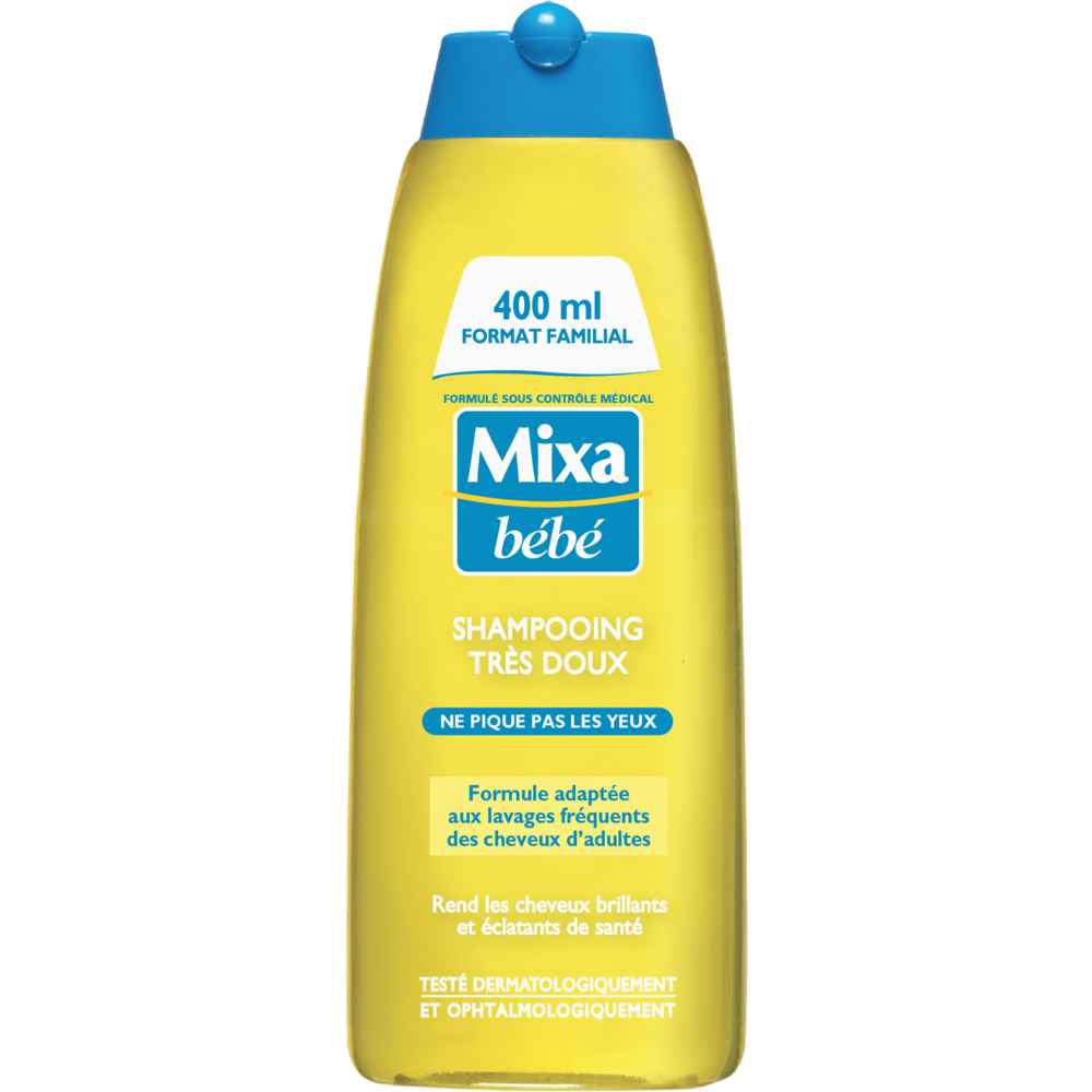 Shampoing très doux, Mixa Bébé (400 ml)