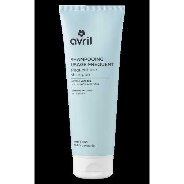 Shampooing usage fréquent pour cheveux normaux certifié BIO, Avril  (250 ml)