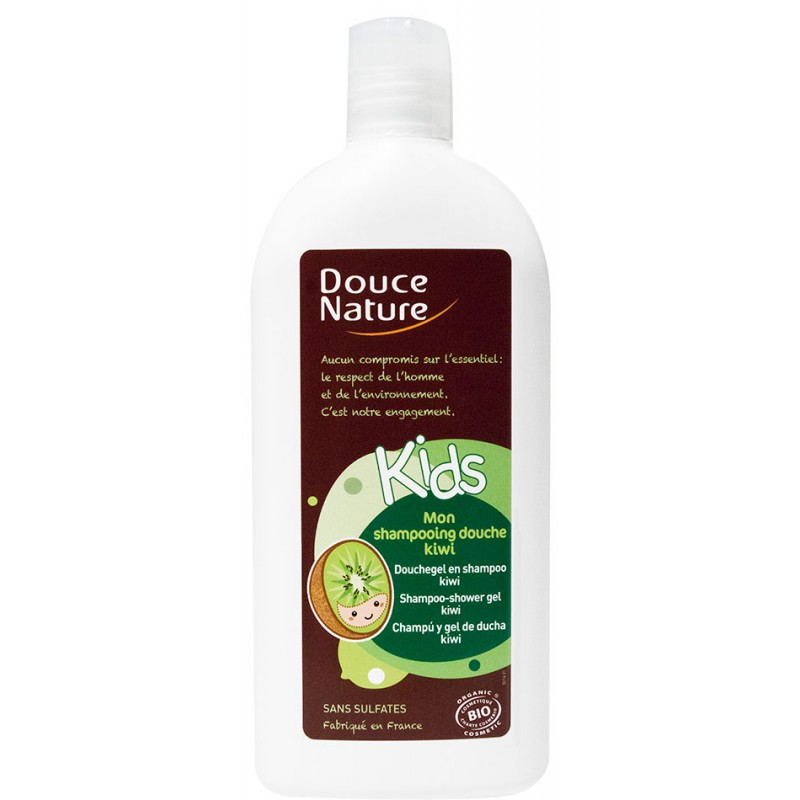 Mon shampooing-douche KIDS kiwi, Douce Nature (300 ml)