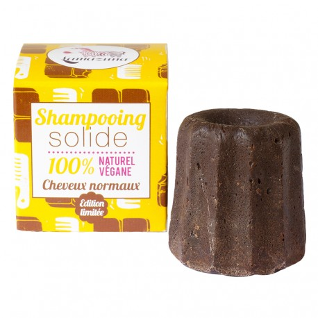 Shampoing solide au chocolat, Lamazuna