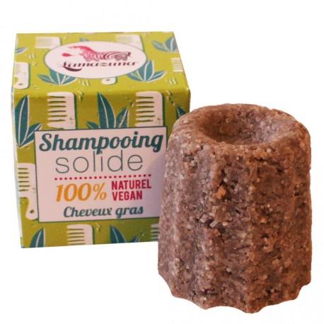 Shampoing solide cheveux gras à la litsée citronnée, Lamazuna
