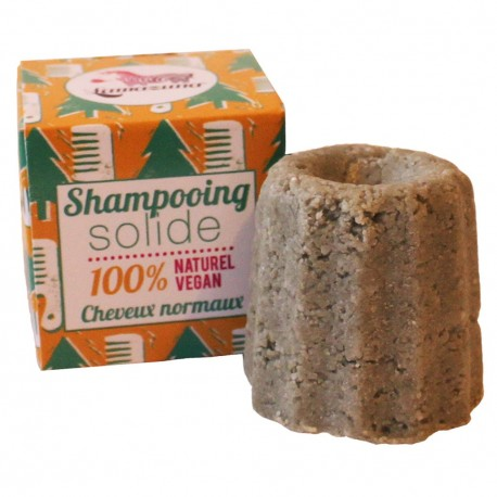 Shampoing solide cheveux normaux au pin sylvestre, Lamazuna