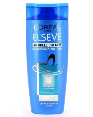 Shampoing Elseve anti-pelliculaire, L'Oréal (250 ml)