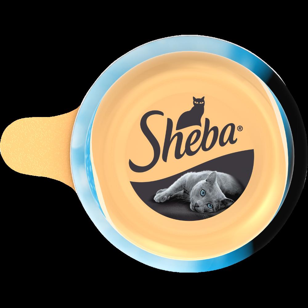 Dôme au thon et poissons de l'océan pour chat, Sheba (80 g)