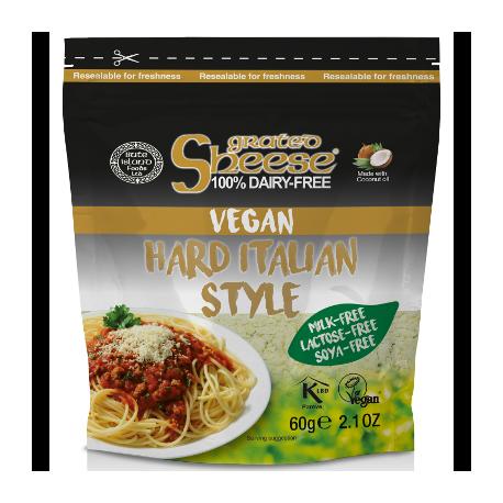 Parmesan vegan rapé, Sheese (60 g)