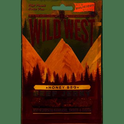 Viande de boeuf séchée miel-barbecue - Beek Jerky, Wild West (25 g)