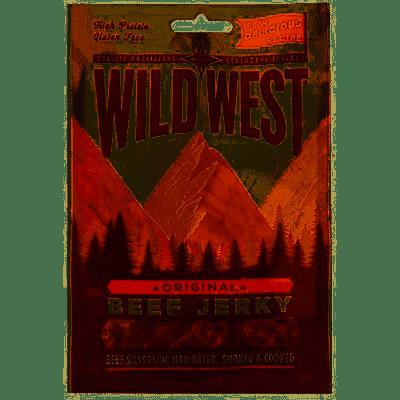 Viande de bœuf séchée Original - Beef Jerky, Wild West (25 g)