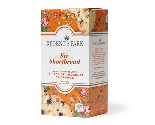 Sir Shortbread au chocolat et à l'orange, Regent's Park (120 g)