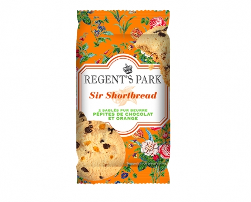 Sir Shortbread au chocolat et à l'orange, Regent's Park (30 g)