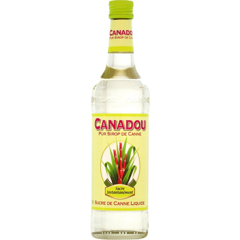 Sucre de canne liquide, Canadou (70 cl)