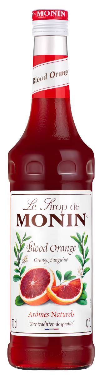 Sirop d'Orange Sanguine, Monin (70 cl)