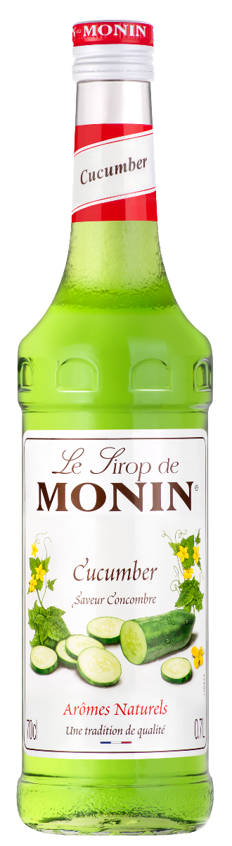 Sirop saveur Concombre, Monin (70 cl)