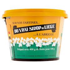 Sirop de Liège aux abricots, Meurens (300 g)