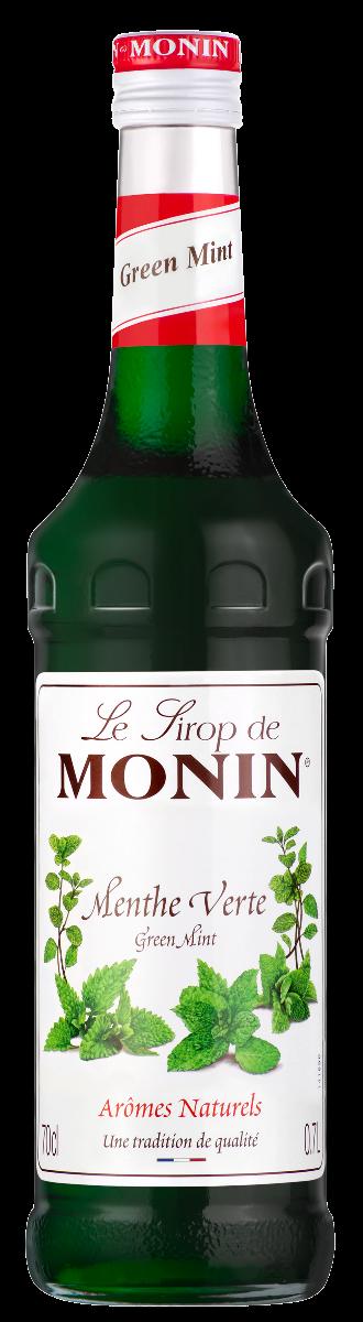 Sirop de Menthe Verte, Monin (70 cl)